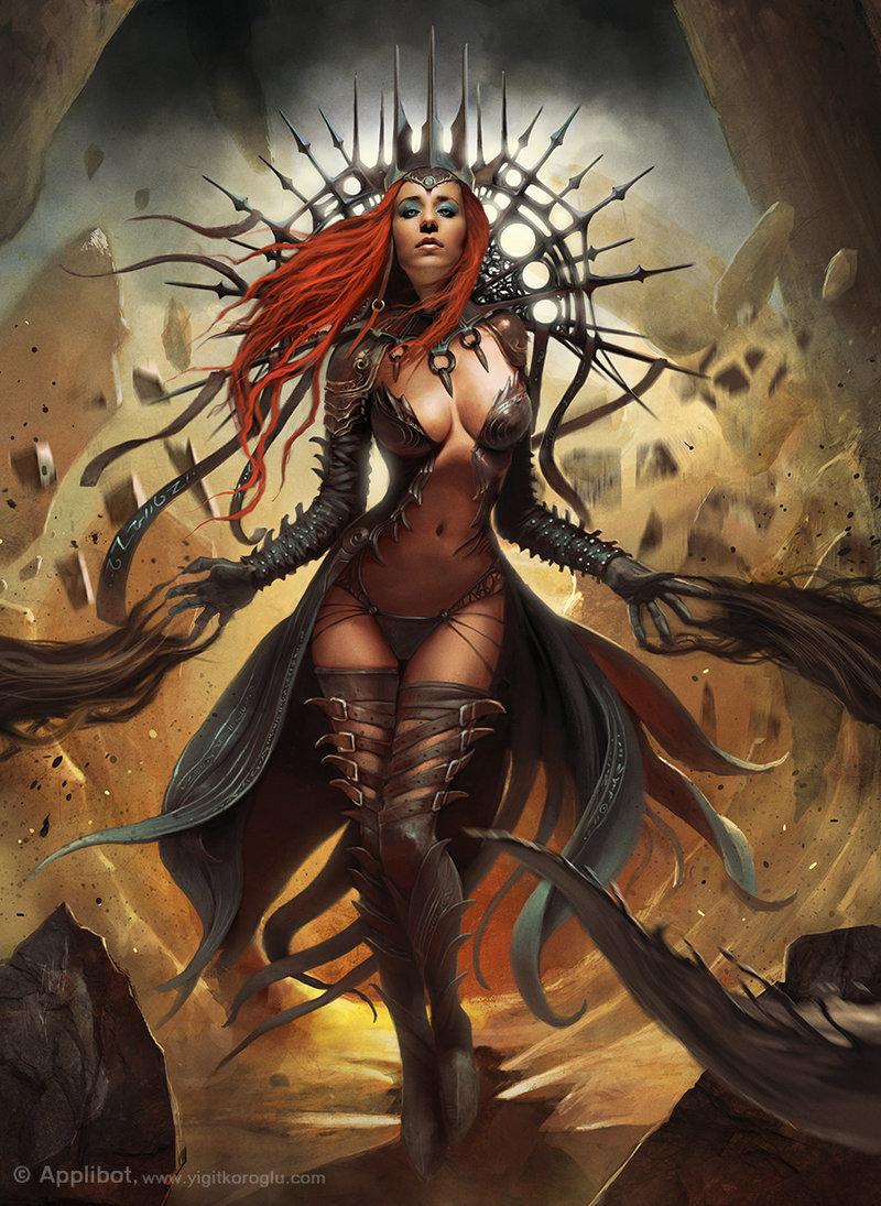 Dark queen advanced by yigitkoroglu d5x8xqd