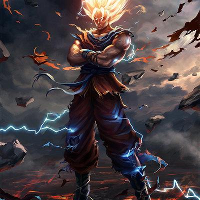 Goku by bpsola d6j32pk
