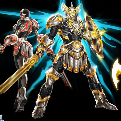 Celestial armor by david nakayama d4ihfod
