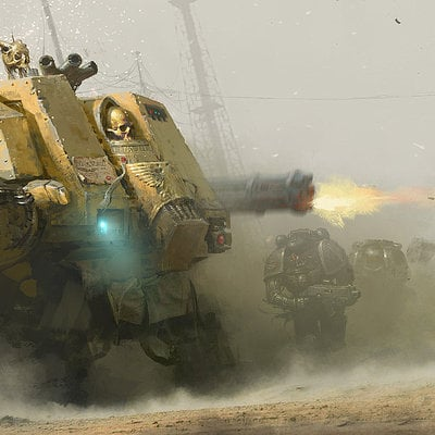 Wh40k dreadnought attack