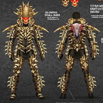 Skeletal armor by pixel saurus d5pt5zc