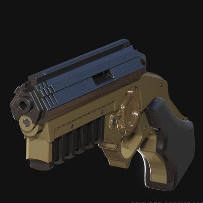 Bat grappling gun