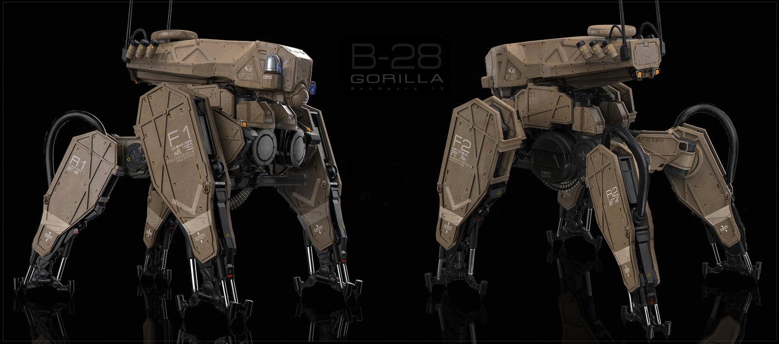 Gorilla Tank - ortho