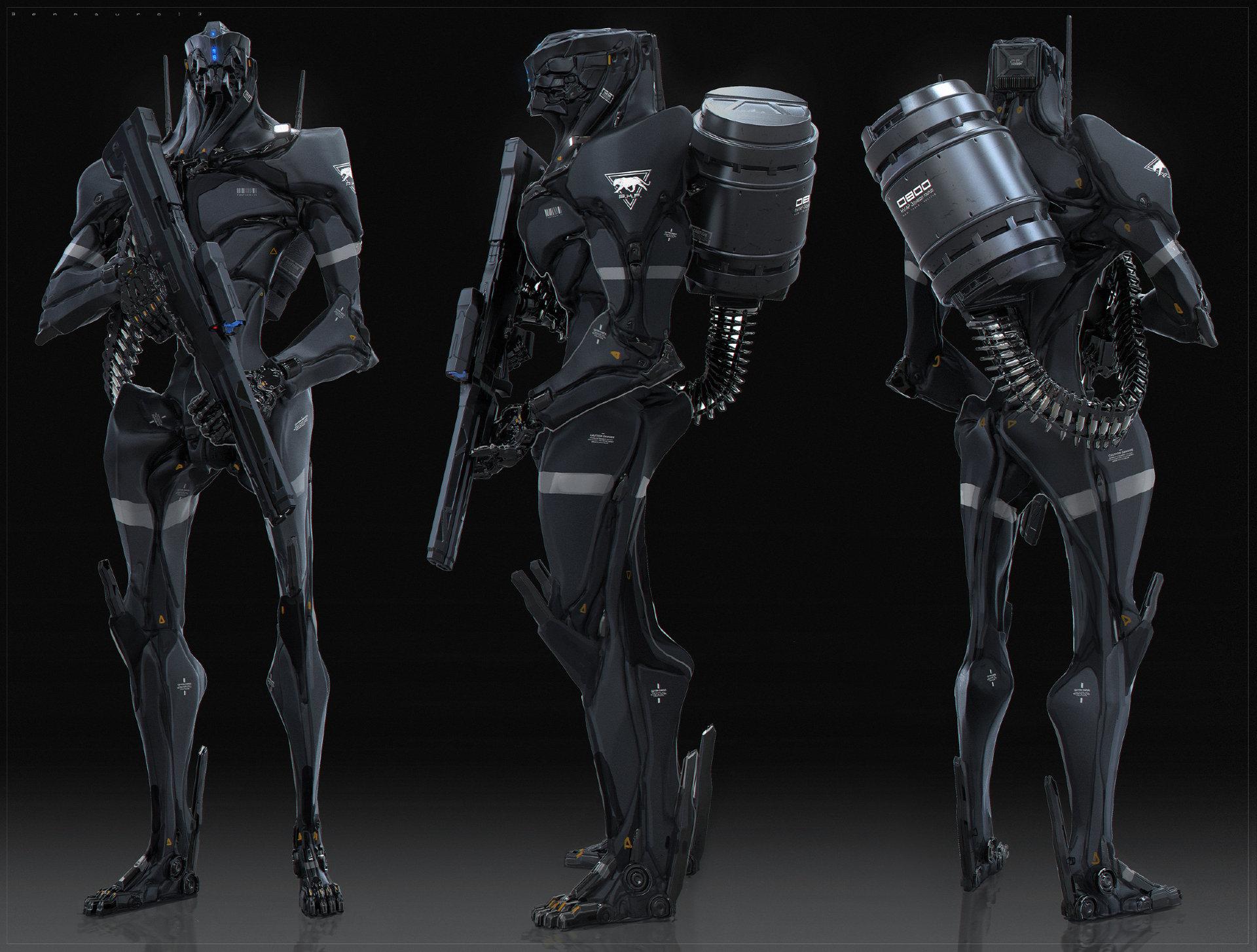 Robot keyshot finalrender5s bm o