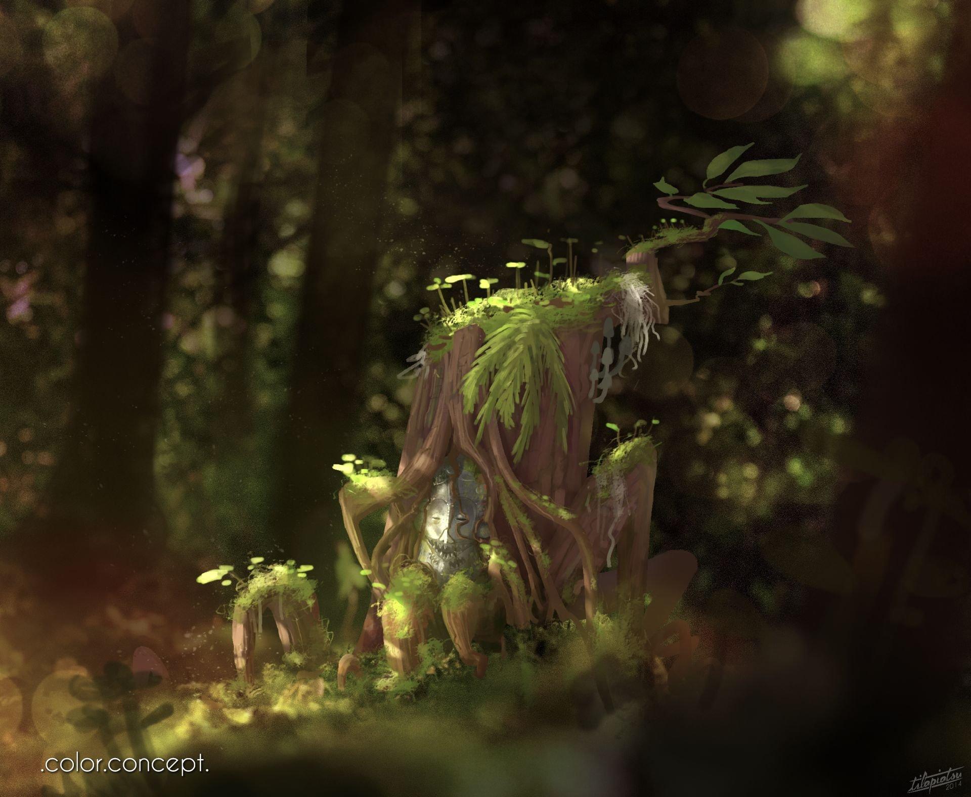 Enchanted tree2