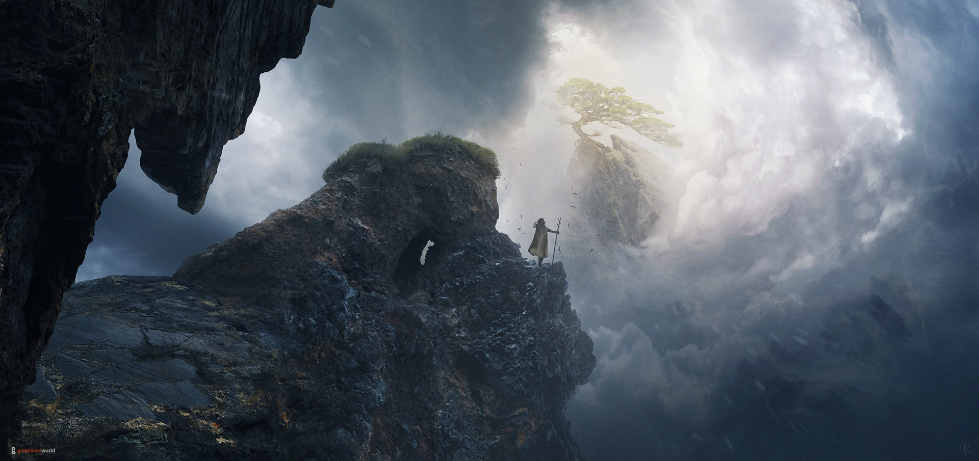 The end of the way key artwork jessica rossier hd