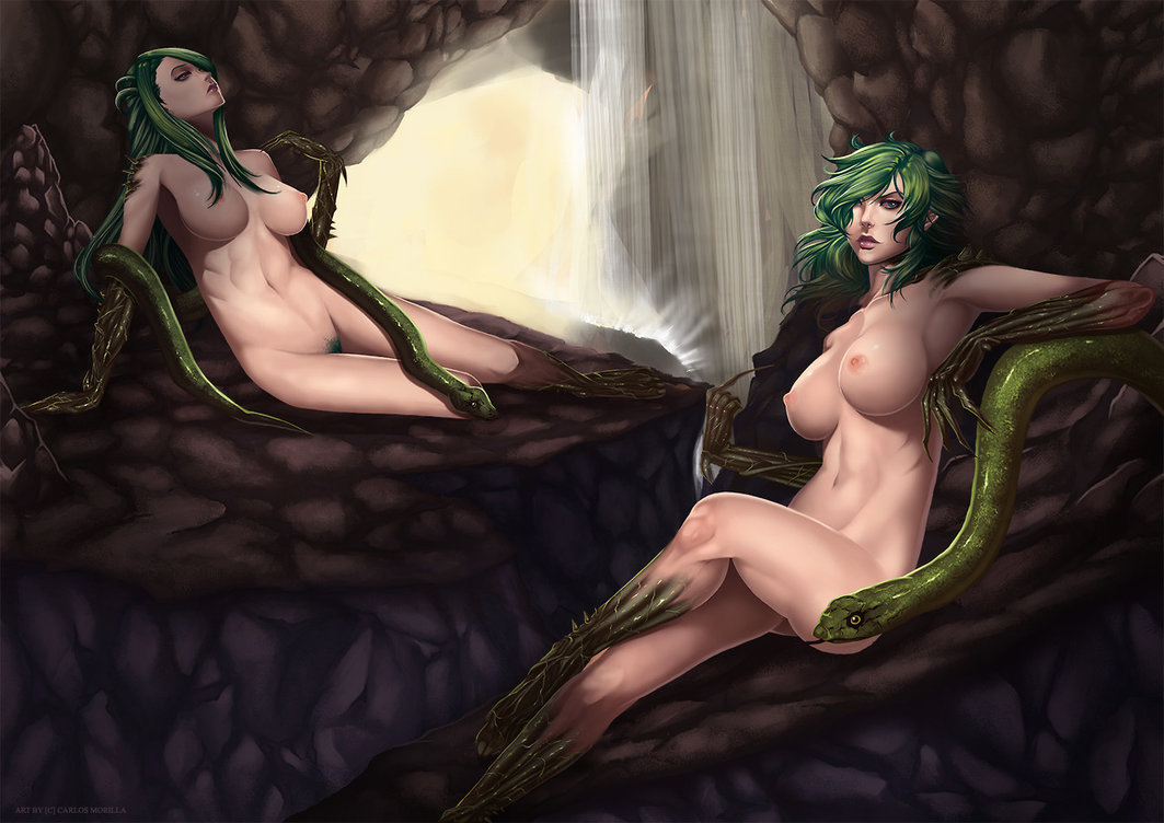 Hot sexy erotic snake fantasy nackt picture