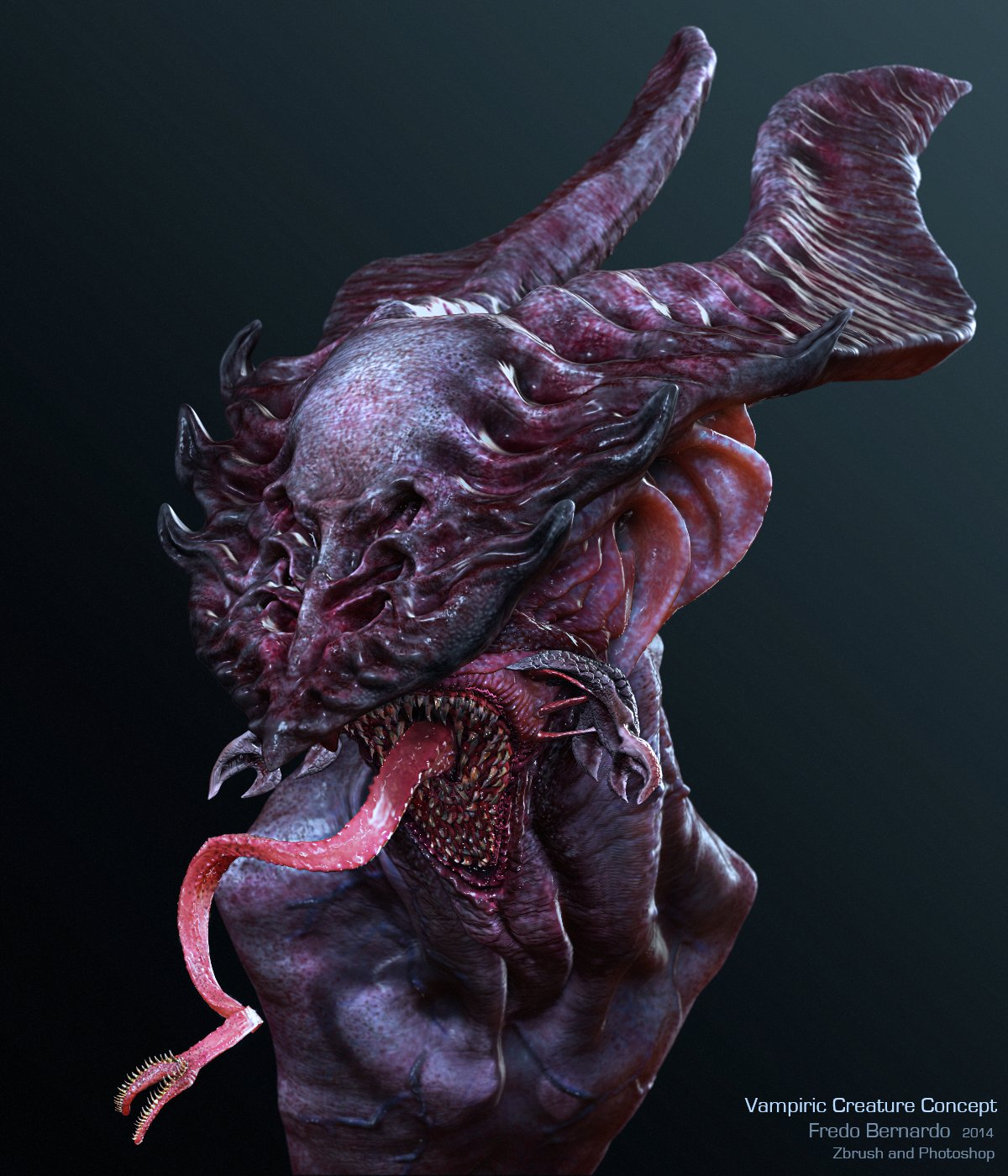 Vampiric Creature Concept