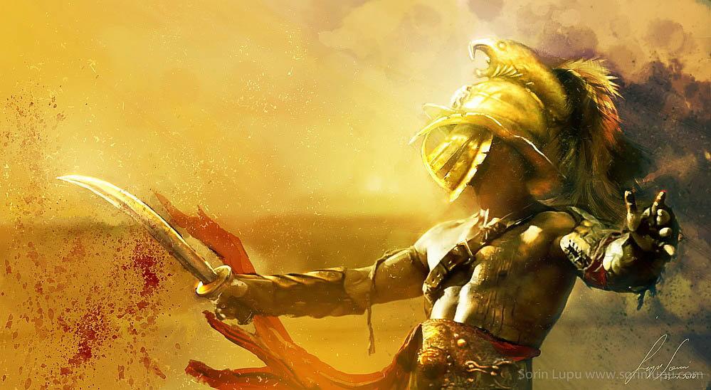 Gladiator conceptart beauty