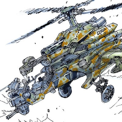 Dragonfly gunship sketch02232014 low