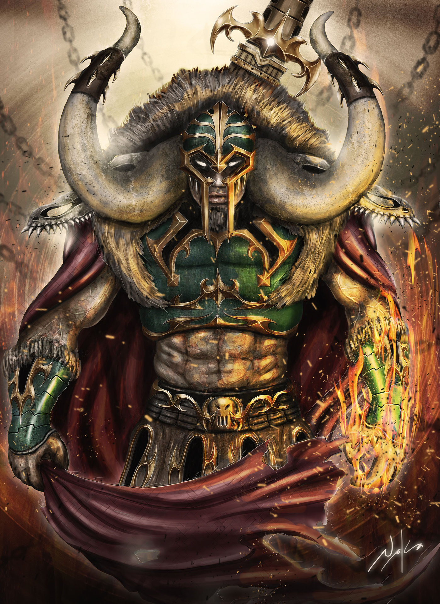 Emperor's flame