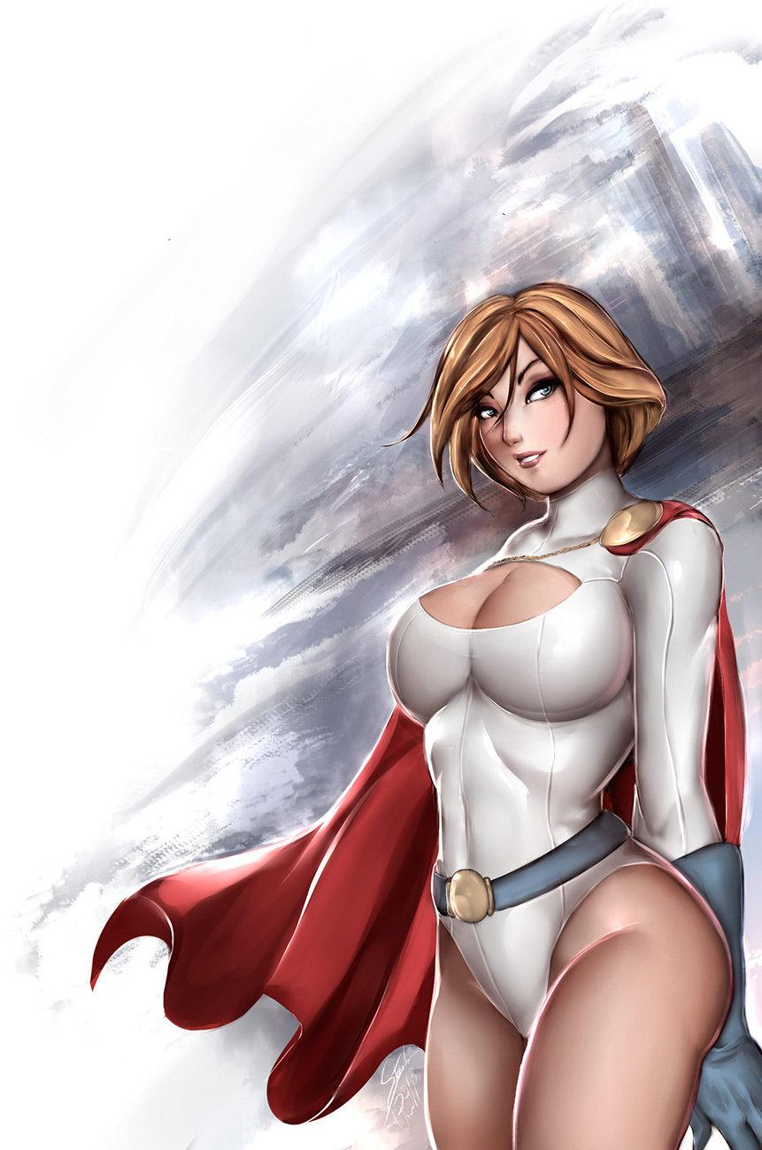 Powergirl porn art hentia picture