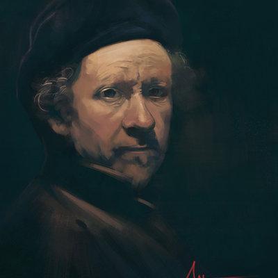 Rembradnt self portrait