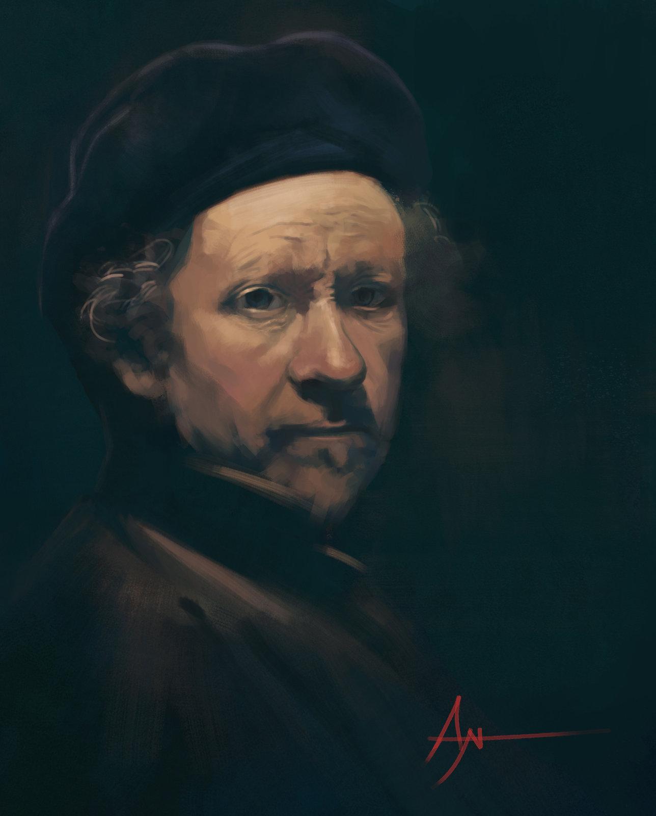 Rembrandt Study 2