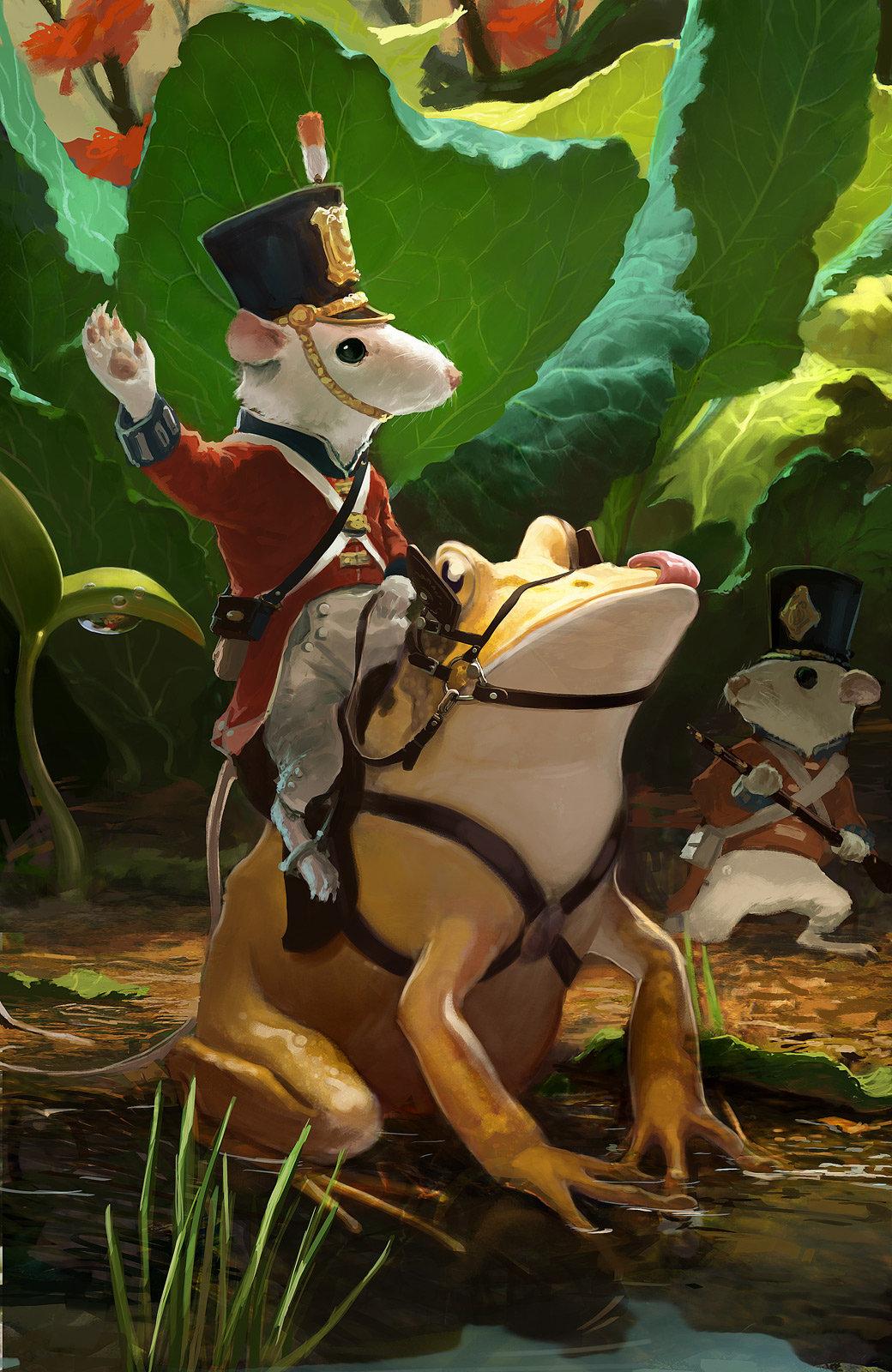 Frog Cavalry