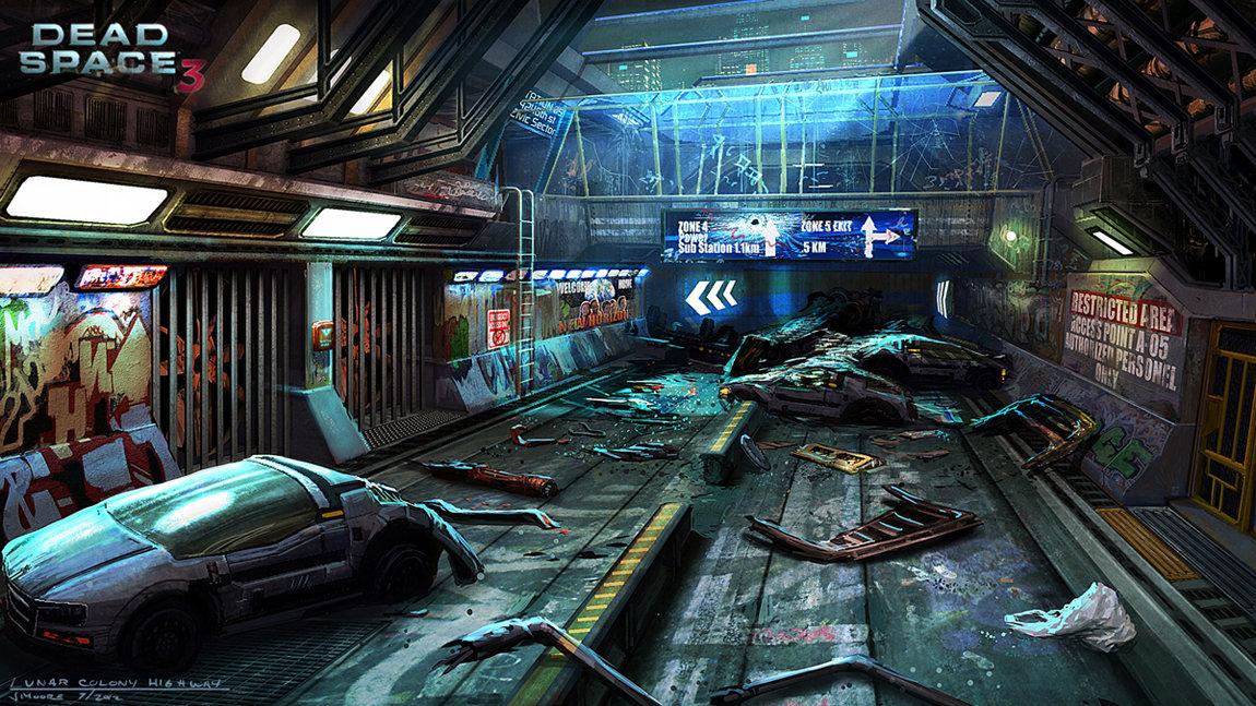 Dead Space 3 concepts 1