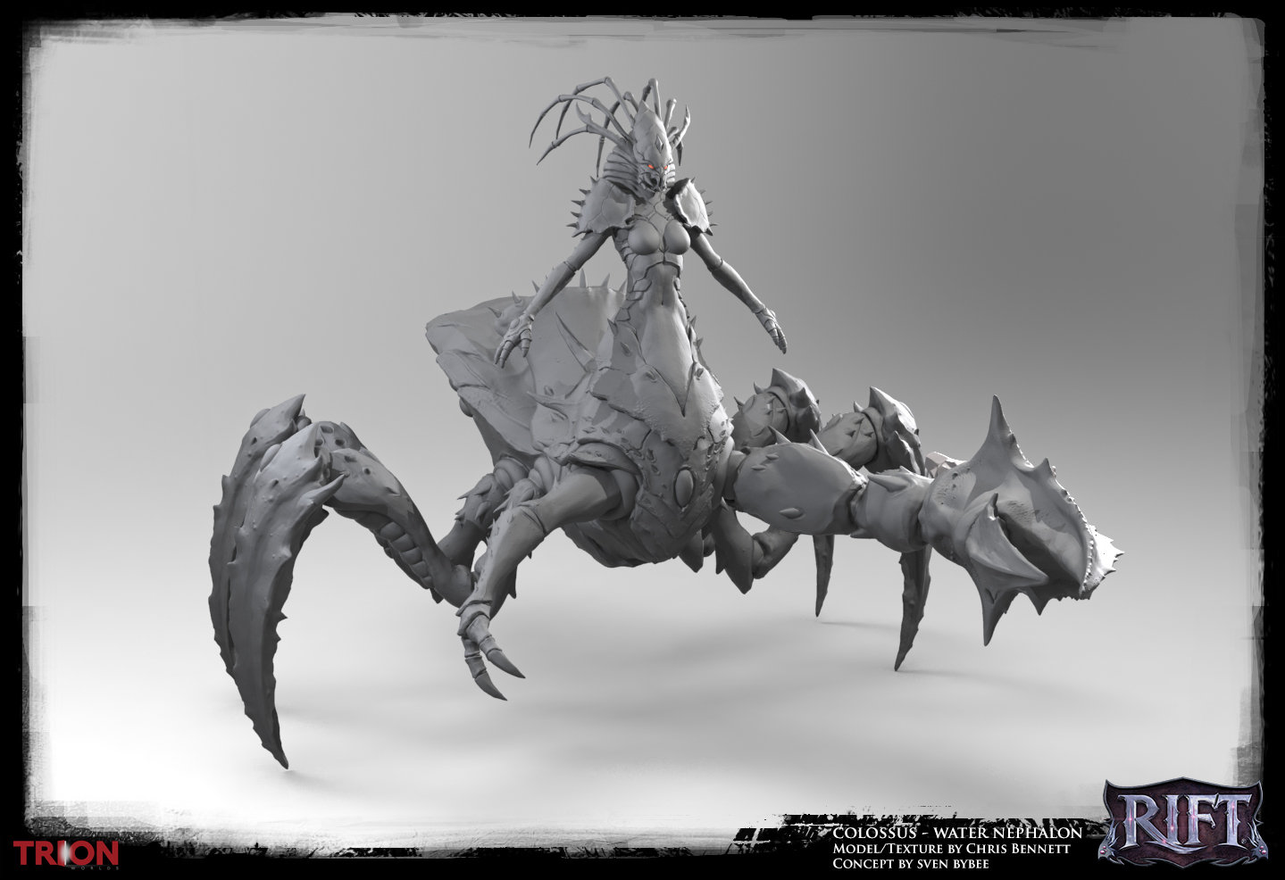 Chrisbennett waternephalon sculpt rift