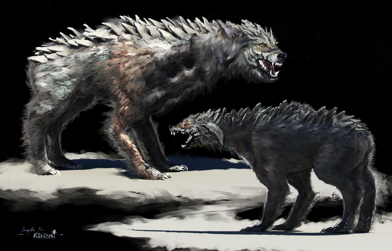 Creaturekanshidog conceptart2 low