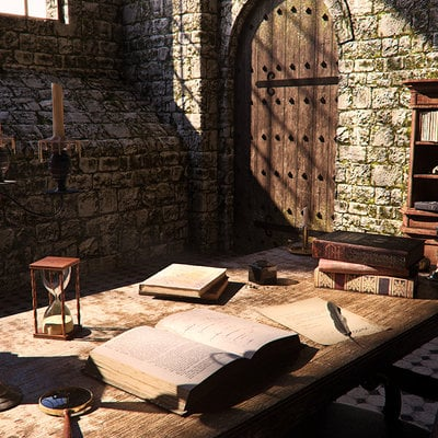 Medieval interior day 11 pn pp