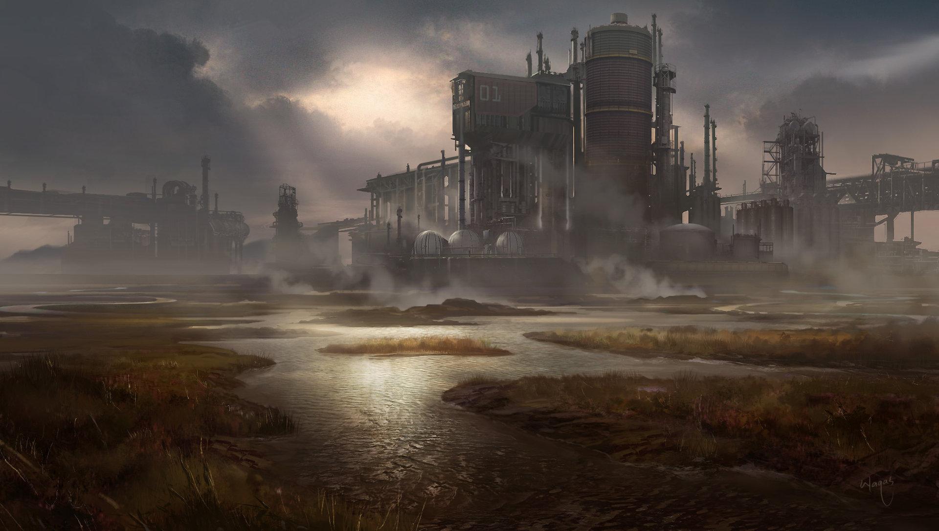 Industrialized mashland