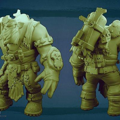 Orc sculpt 3 by missmaddytaylor d5ts2j9