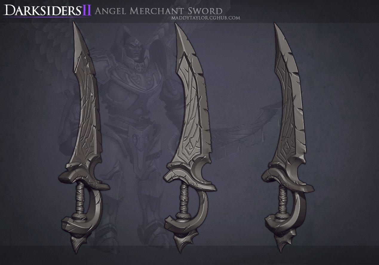 Ds2  angel merchant sword by missmaddytaylor d5b9b7n