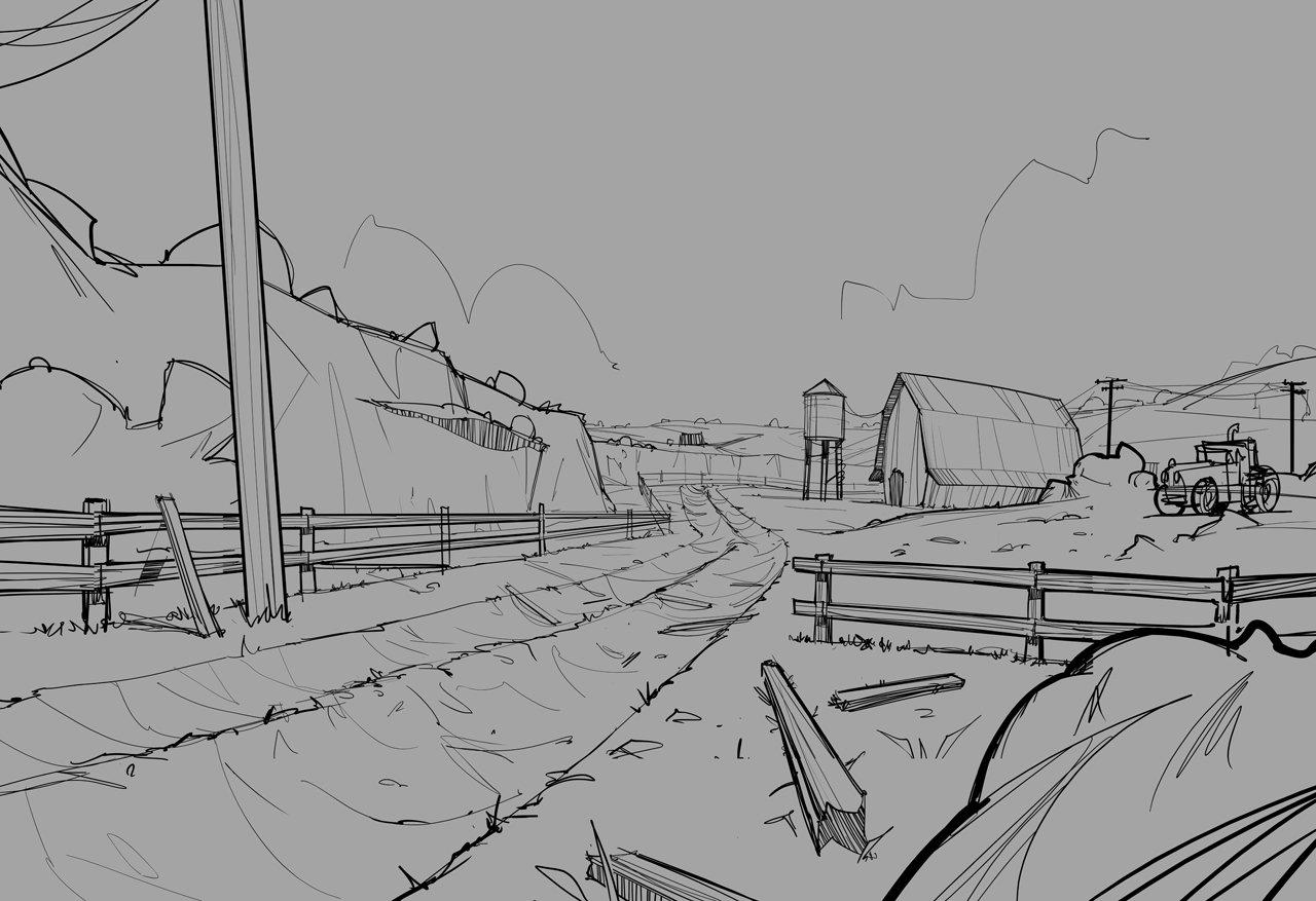 Turn sketch