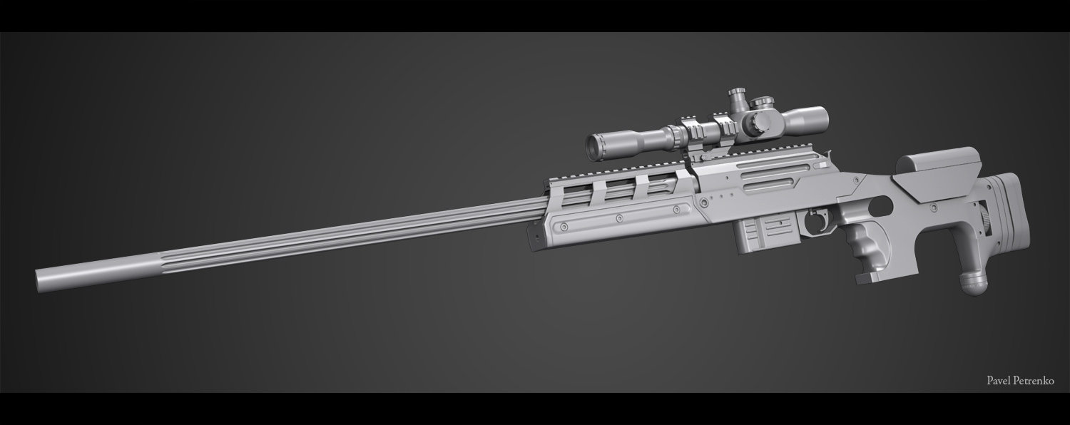 Alpine sniper rifle