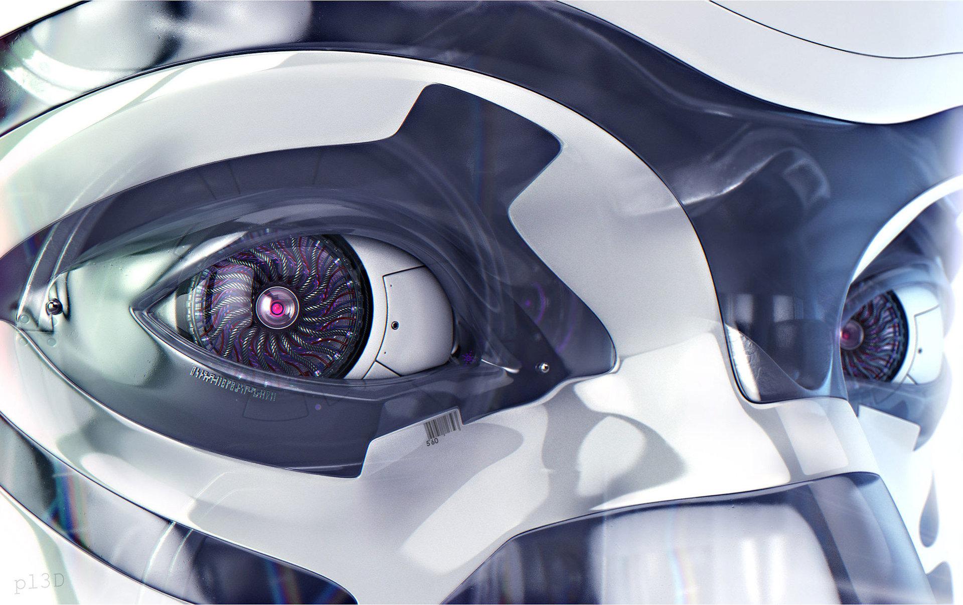 Robotica olho 1 leve
