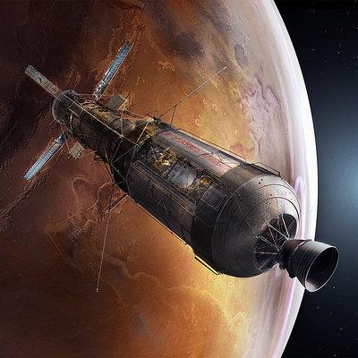 Martian rust 001