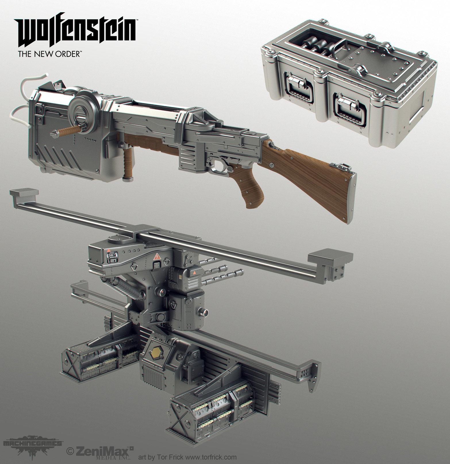 Wolfenstein: The New Order Various