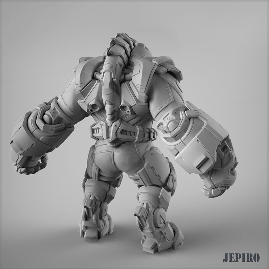 Armored mutant hirez