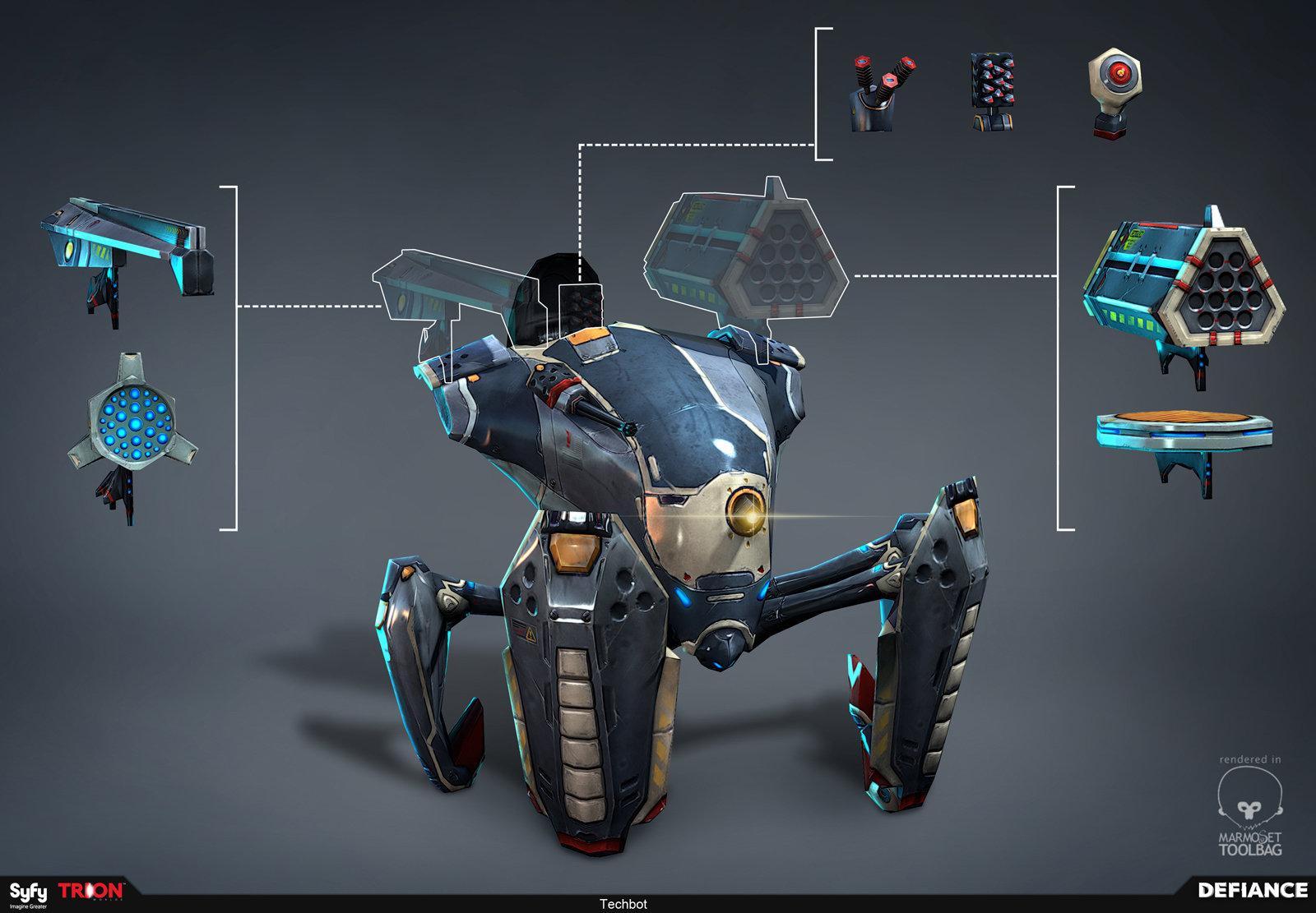 Defiance - Techbot