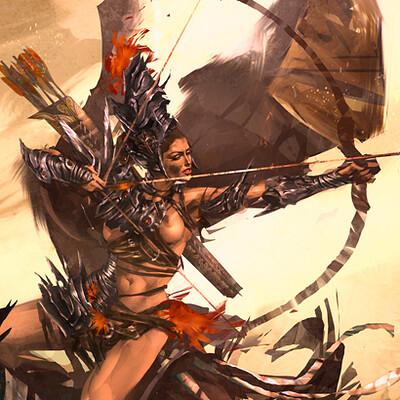 J otto szatmari female warrior jotto 1250web