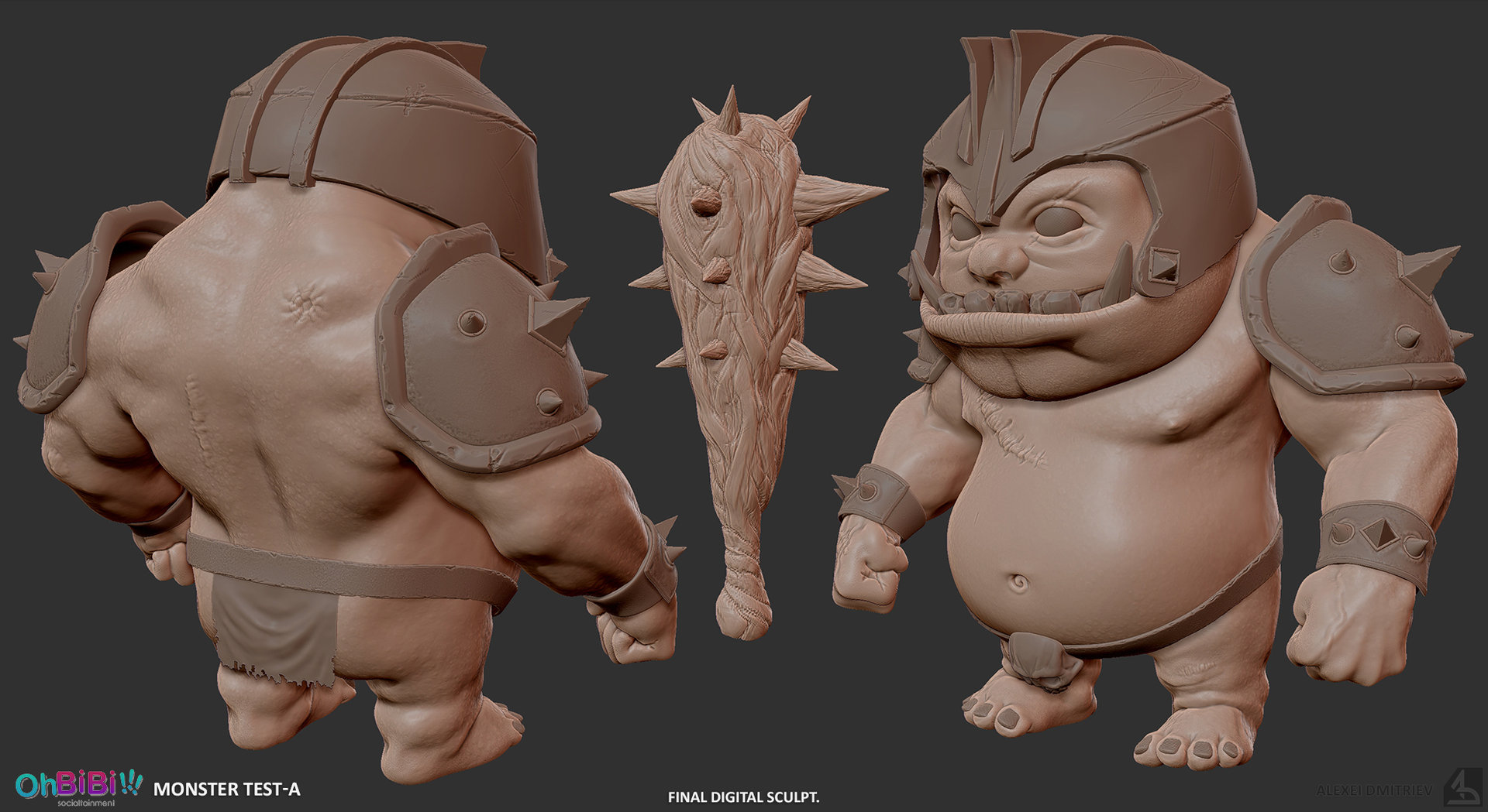 Alexei dmitriev ogre sculpt final