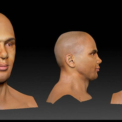 Audrey wong man head by audreee d5bejhu