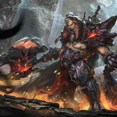 Milan nikolic diablo 3 barbarian by nookiew d7a091x 1