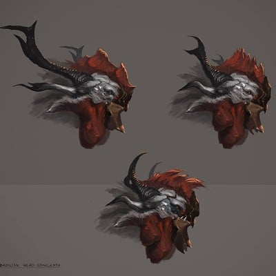 Milan nikolic creature head concepts by nookiew d7302nf