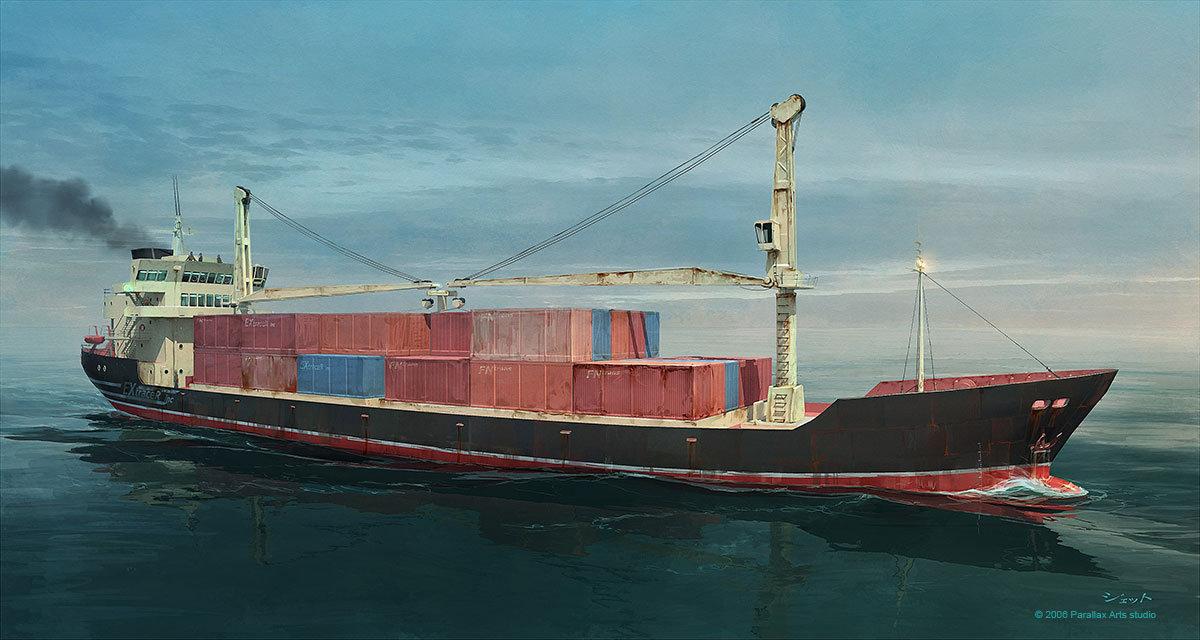 Dmitry popov hyp cargo ship