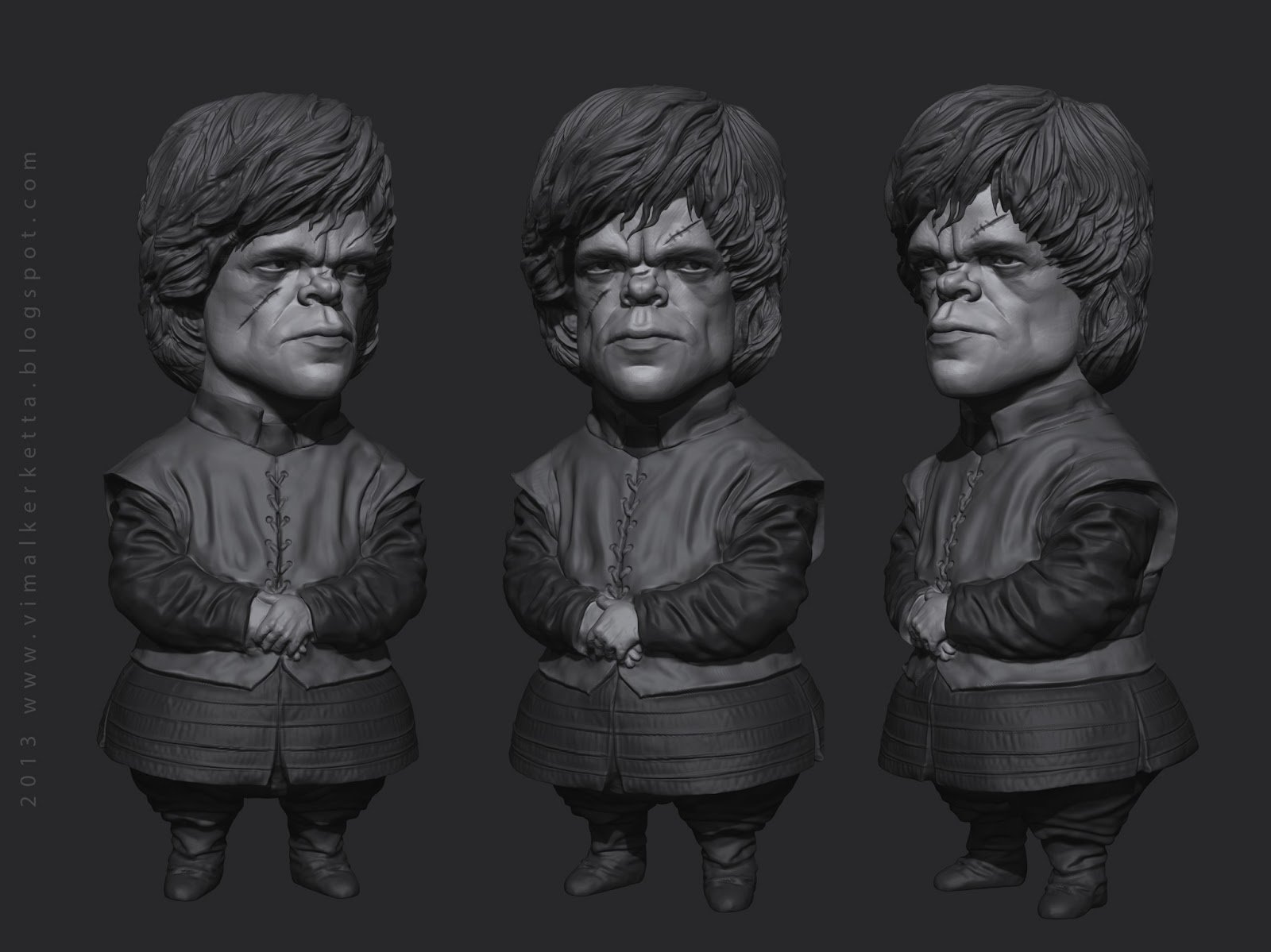 Tyrion Lannister - Caricature Sketch
