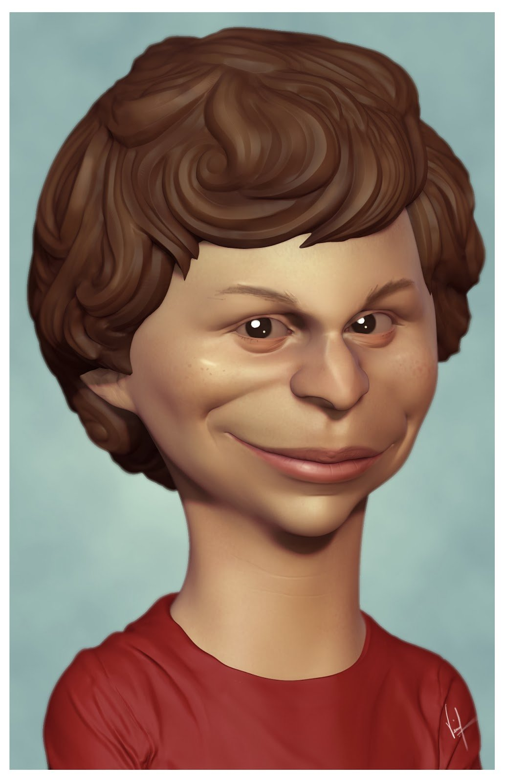 Michael Cera- Caricature Sketch