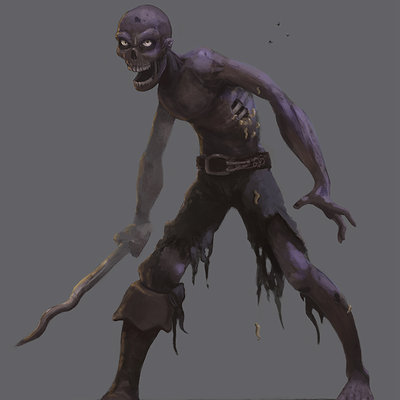 Ruben castro zombie