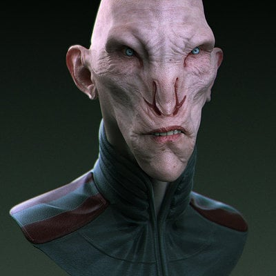 Christopher brandstrom alien render