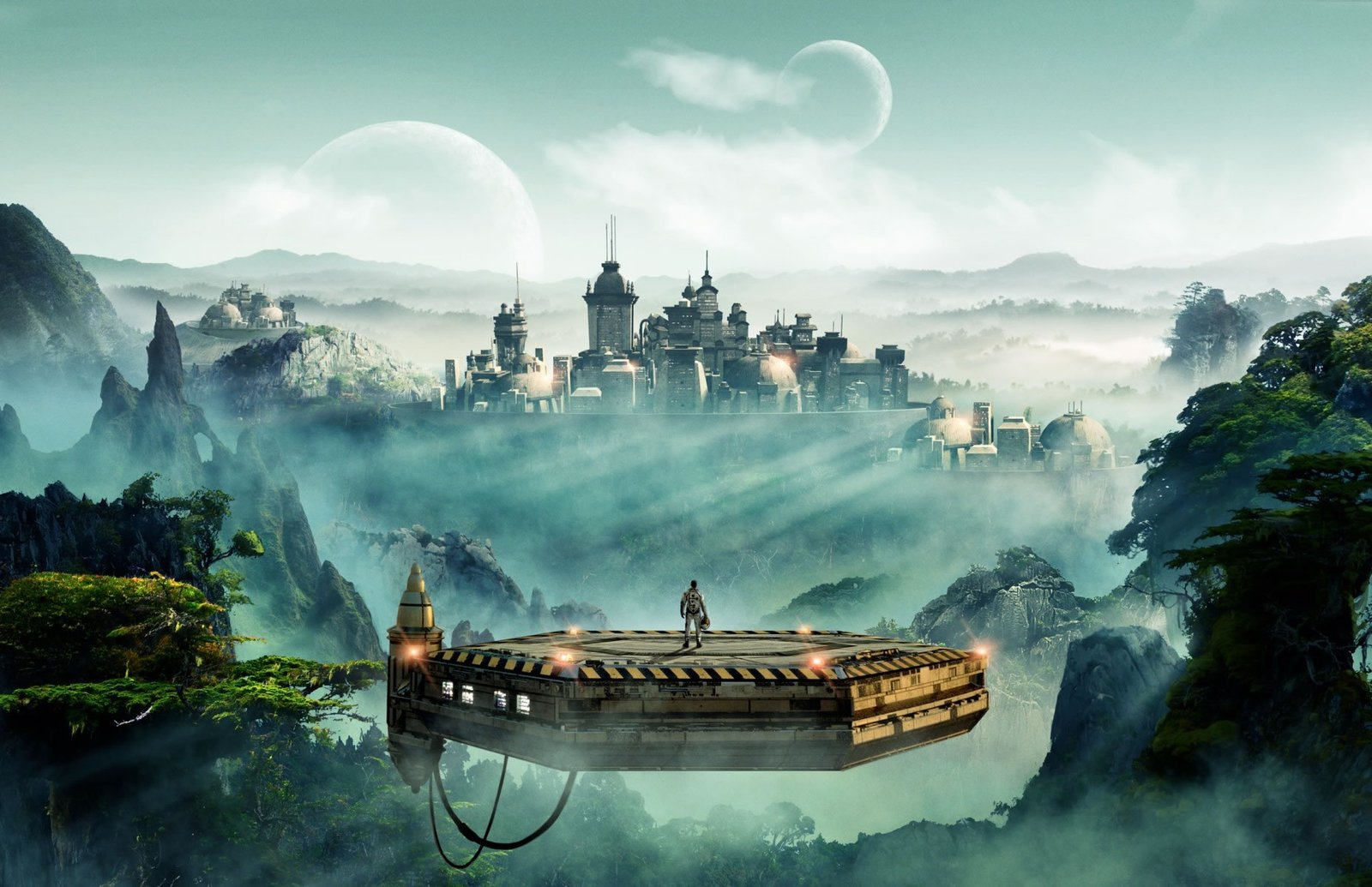 Sid Meyer's Civilization Beyond Earth Promotional Poster