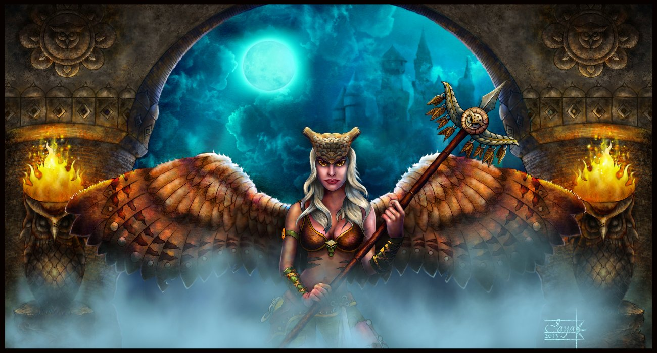 http://anant-art.deviantart.com/art/Lady-Owl-Warrior-379071621