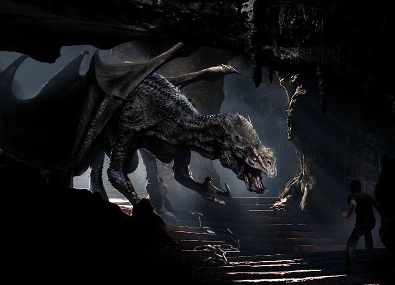 Daren horley cave dragon