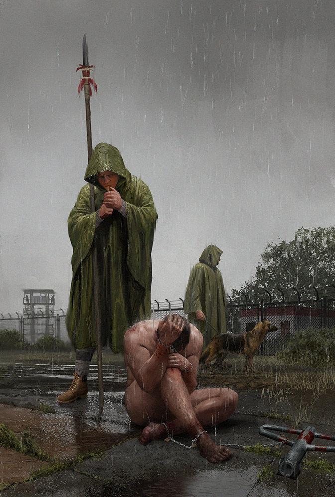 Milek jakubiec slaver and slave concept 01