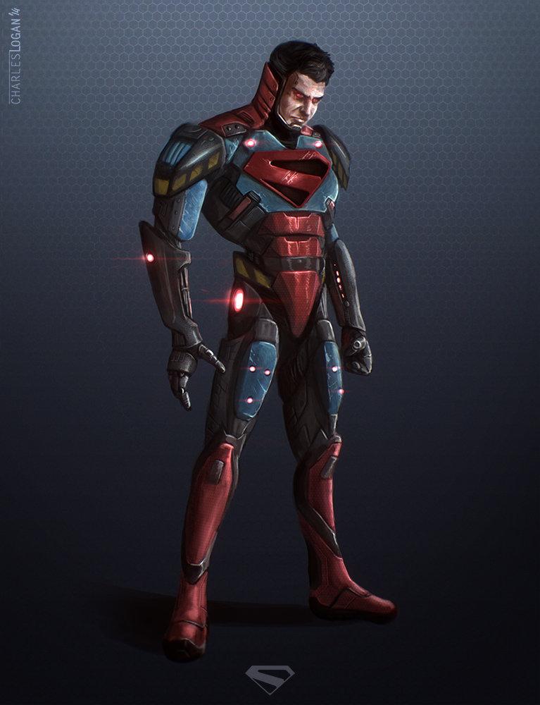 Charles logan cyborg superman 1