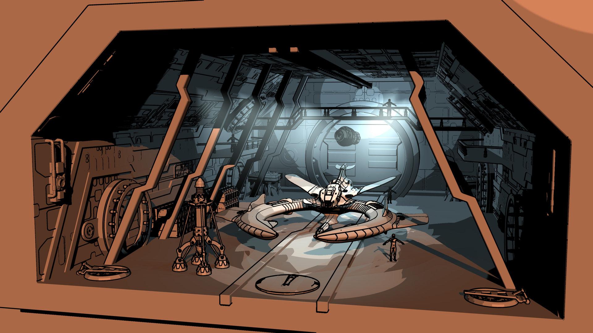 Murat kaya hangar sketch02