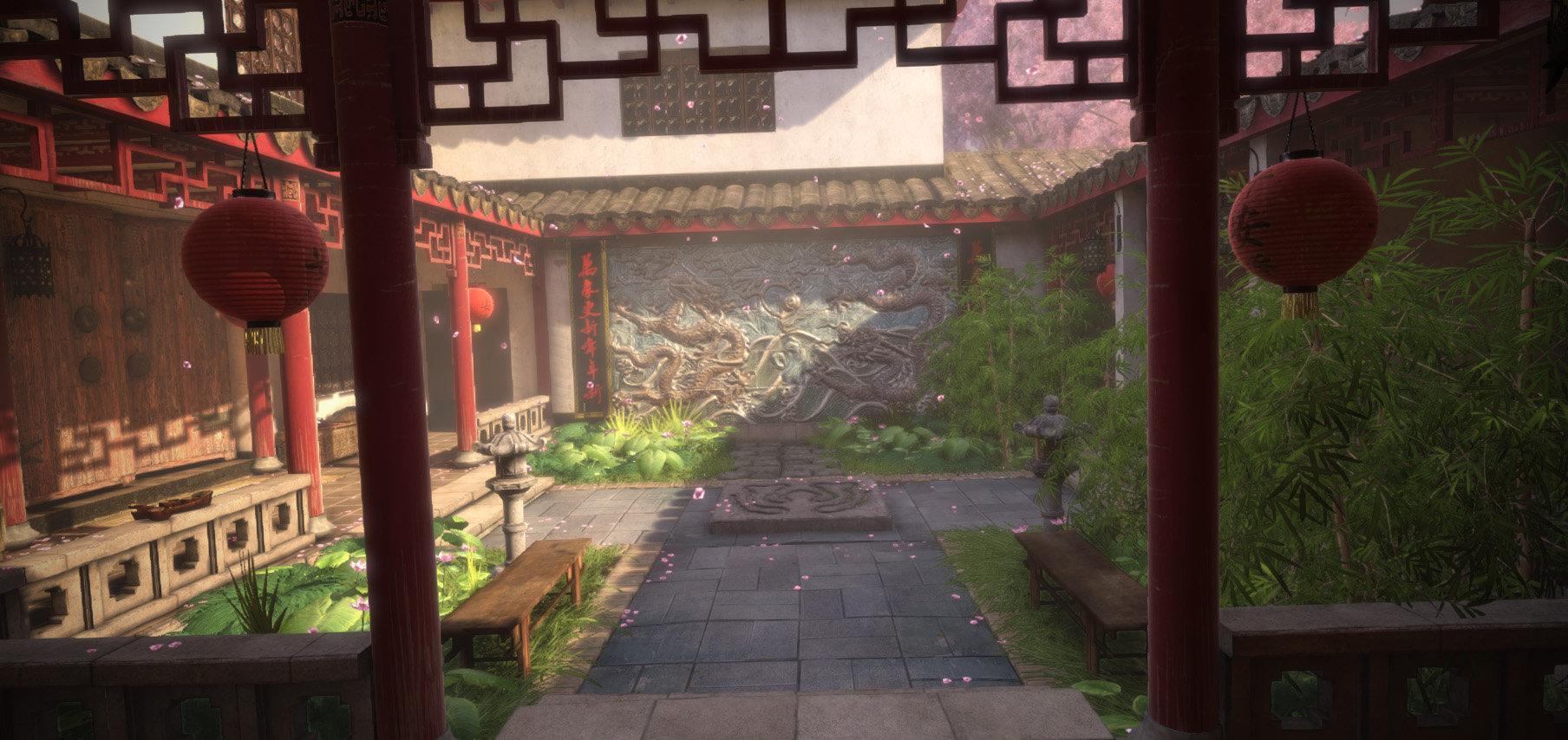 Jeff severson chinese courtyard day 08